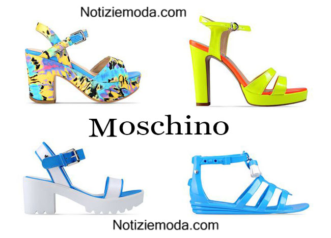 Sandali Love Moschino calzature estate 2015