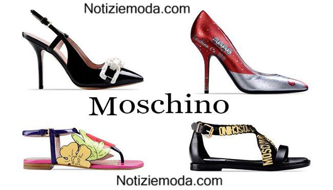 Scarpe donna Moschino calzature estate 2015