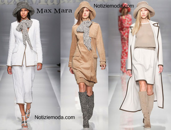 Scarpe Max Mara primavera estate 2015 donna