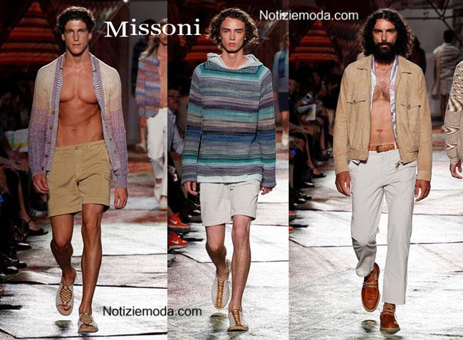 Scarpe Missoni primavera estate 2015 uomo