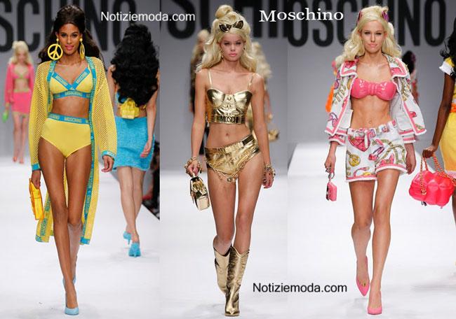 Scarpe Moschino primavera estate 2015 donna