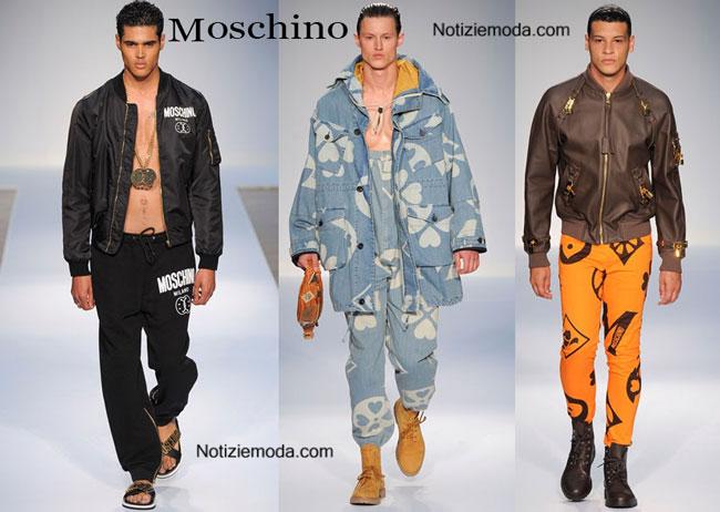 Scarpe Moschino primavera estate 2015 uomo