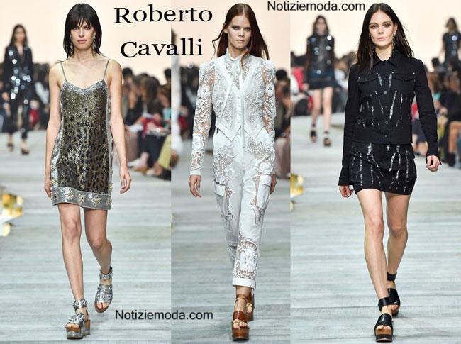 Scarpe Roberto Cavalli primavera estate 2015 donna