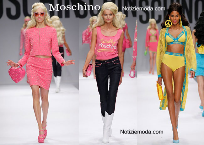 Sfilata Barbie Moschino 2015 accessori