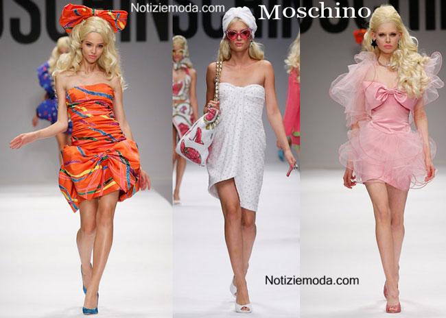 Sfilata Barbie Moschino donna 2015