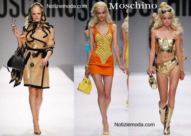 Sfilata Barbie Moschino primavera estate 2015