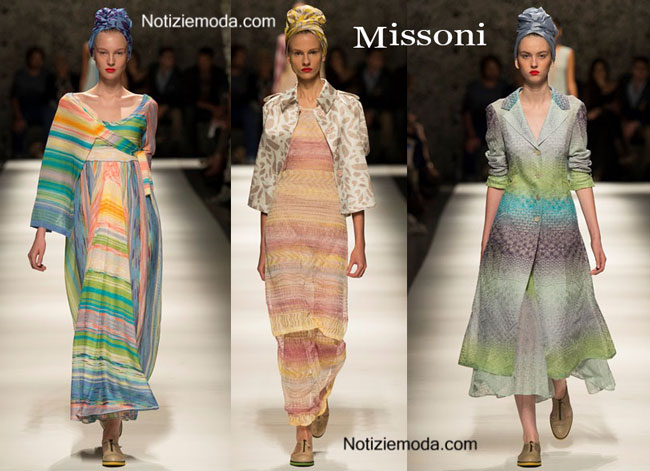 Sfilata Missoni primavera estate 2015