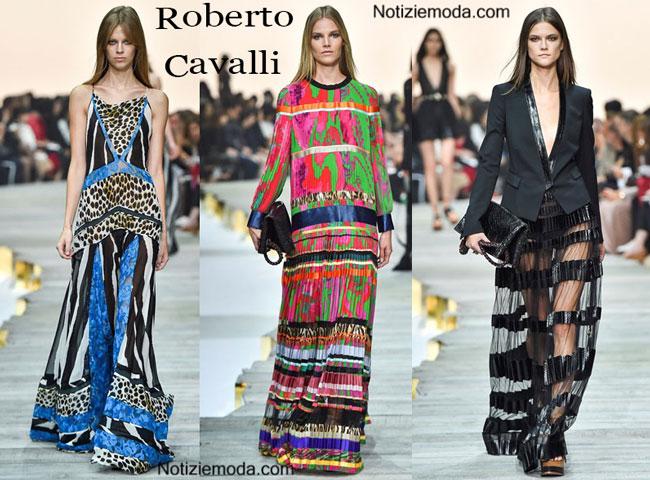 Sfilata Roberto Cavalli donna primavera estate 2015