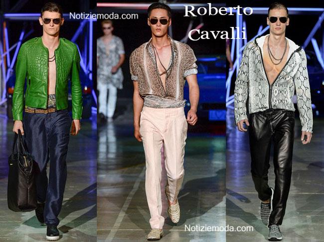 Sfilata Roberto Cavalli primavera estate 2015