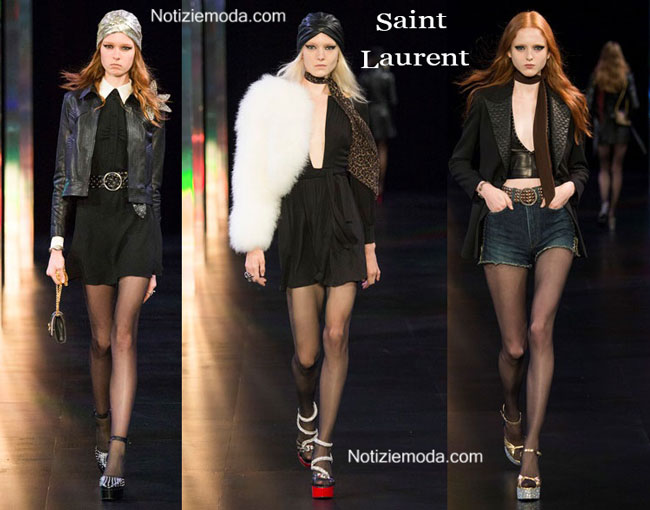 Sfilata Saint Laurent primavera estate 2015