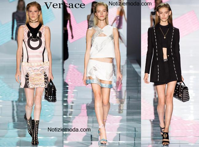 Sfilata Versace donna primavera estate