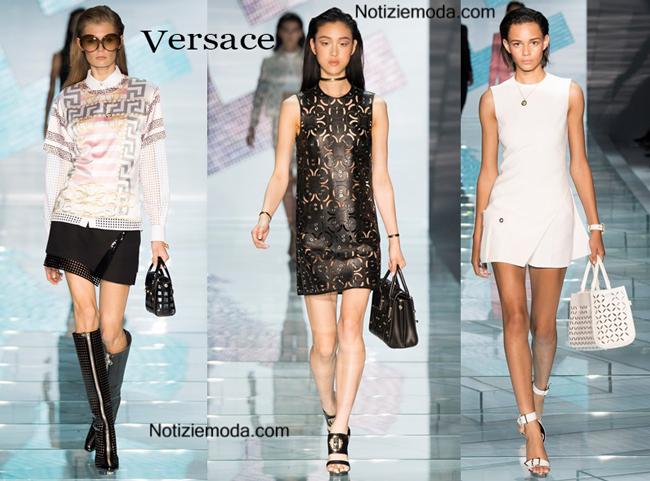 Sfilata Versace primavera estate donna