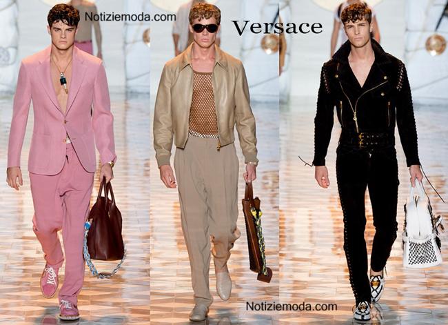 Sfilata Versace primavera estate uomo