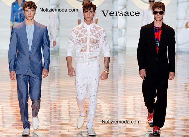 Sfilata Versace uomo primavera estate