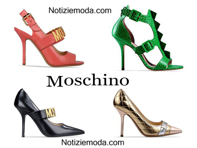 Shoes Moschino primavera estate 2015