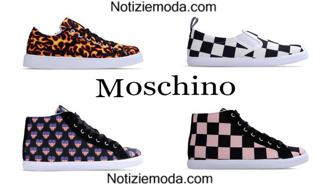Sneakers Love Moschino primavera estate 2015