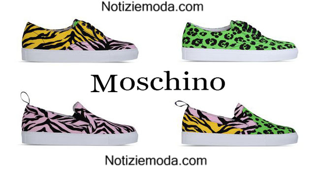 Sneakers Moschino primavera estate 2015