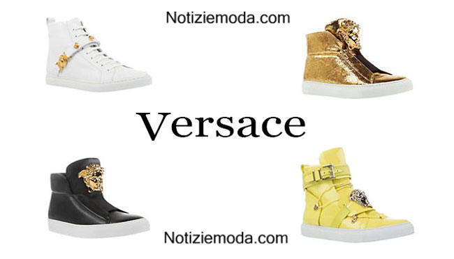 Sneakers Versace primavera estate 2015 donna