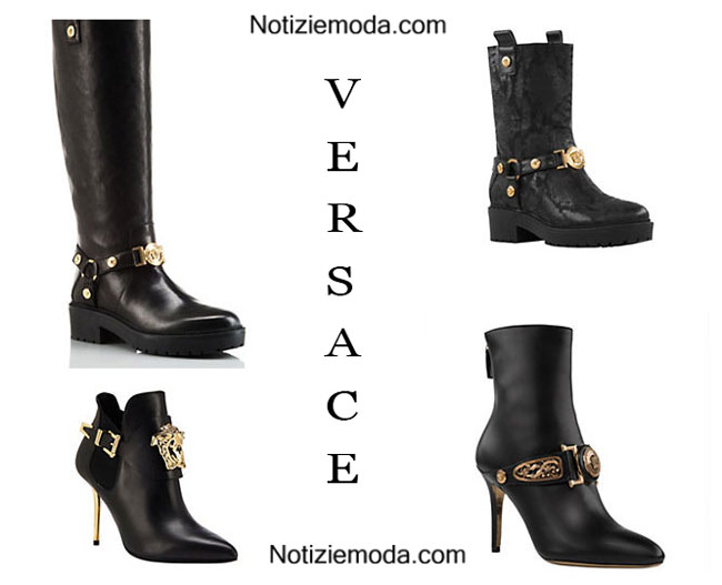 Stivali Versace calzature estate donna 2015