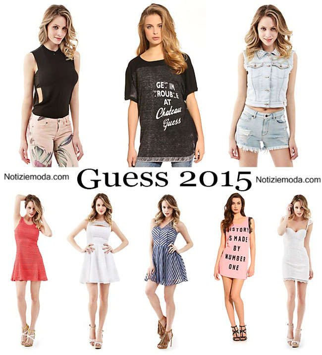 new products 49502 50e26 Abbigliamento Guess primavera estate 2015 donna