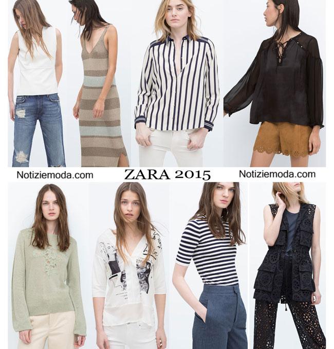 Abbigliamento ZARA primavera estate 2015