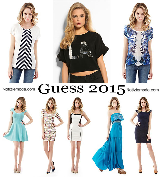 Abiti Guess primavera estate 2015 moda donna