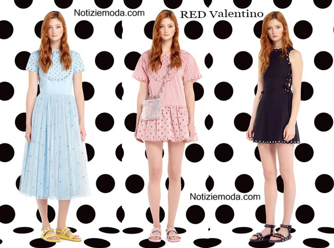 Abiti RED Valentino primavera estate 2015 ragazza