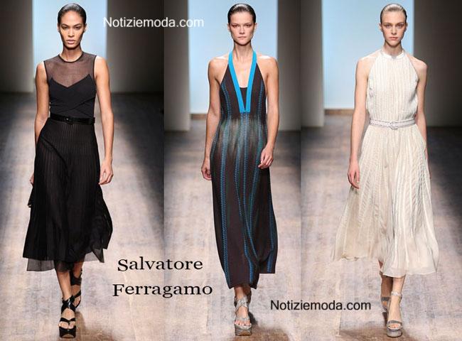 Abiti Salvatore Ferragamo primavera estate 2015 donna