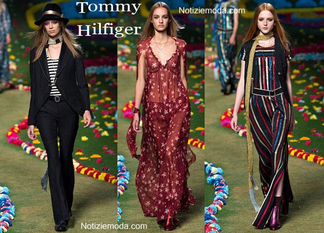 Abiti Tommy Hilfiger primavera estate 2015 donna
