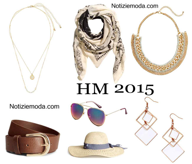 Accessori HM primavera estate 2015