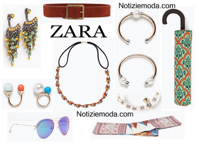 Accessori ZARA primavera estate 2015