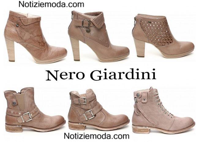 Boots Nero Giardini calzature primavera estate 2015