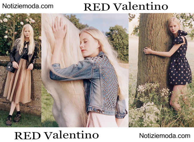 Campagna RED Valentino primavera estate 2015