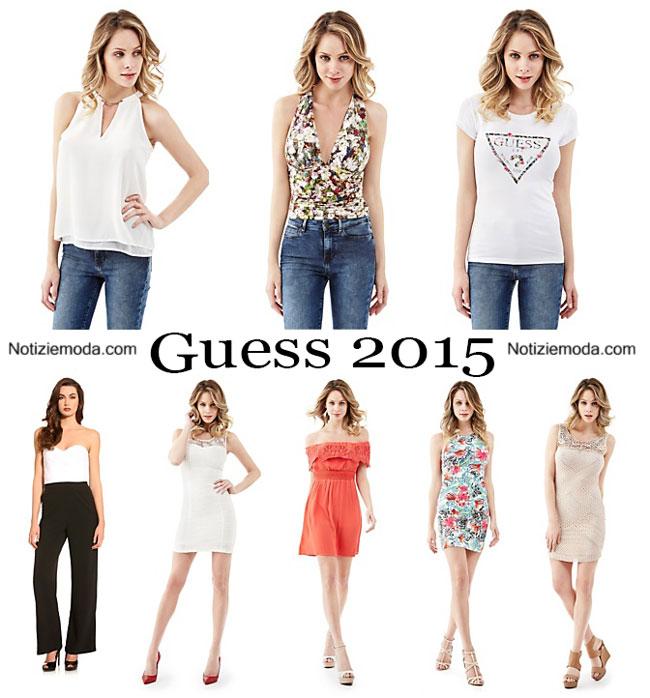 5e3f39e9741f Abbigliamento Guess primavera estate 2015 donna