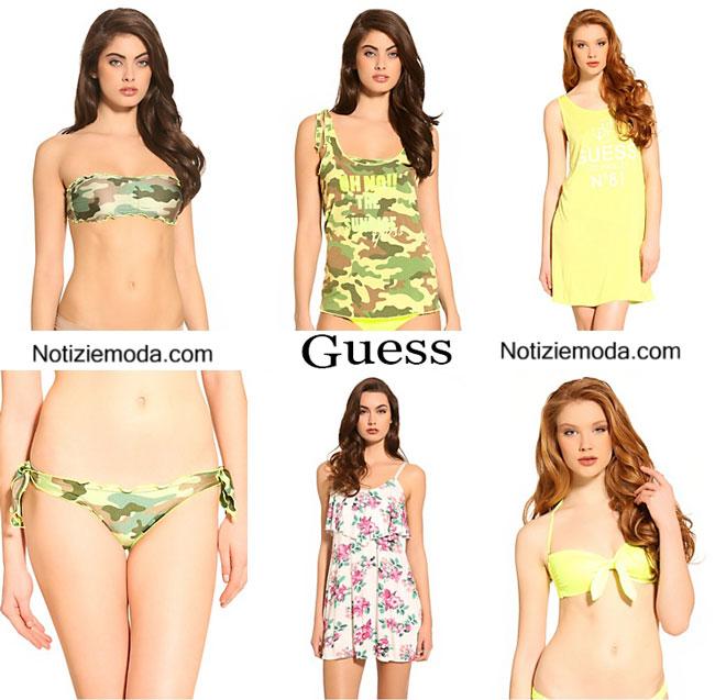 Collezione moda mare Guess estate 2015