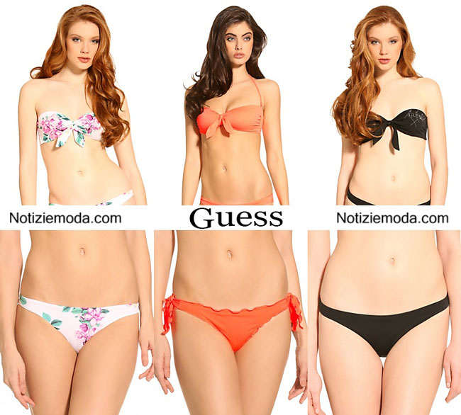 Costumi bikini Guess primavera estate 2015