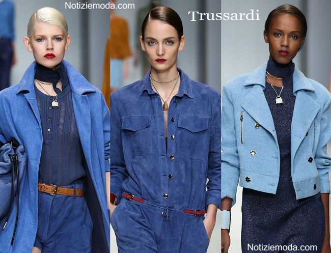 Look Trussardi primavera estate 2015 donna