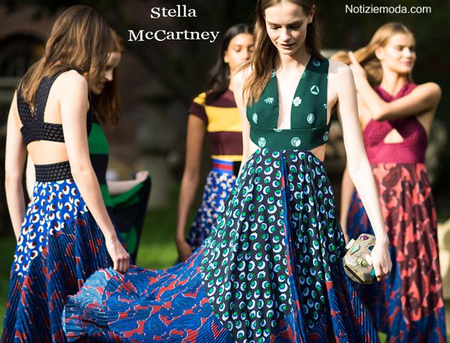 Look Stella McCartney primavera estate 2015 donna