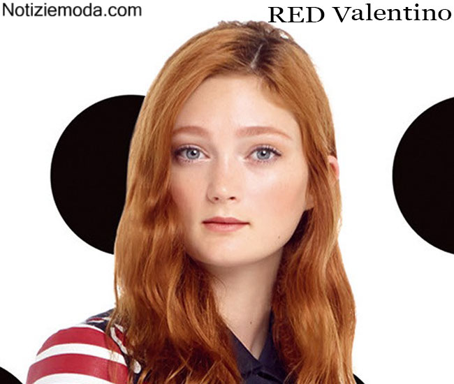 Makeup RED Valentino primavera estate 2015 ragazza