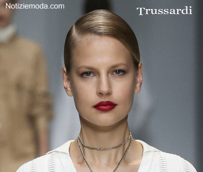 Makeup Trussardi primavera estate 2015 donna
