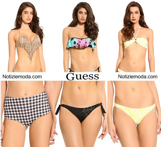 Moda mare Guess estate 2015 bikini
