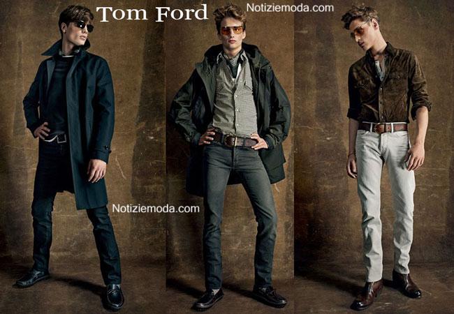 Occhiali Tom Ford primavera estate 2015 uomo