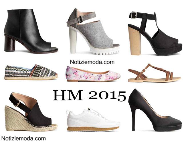 Scarpe HM primavera estate 2015 donna