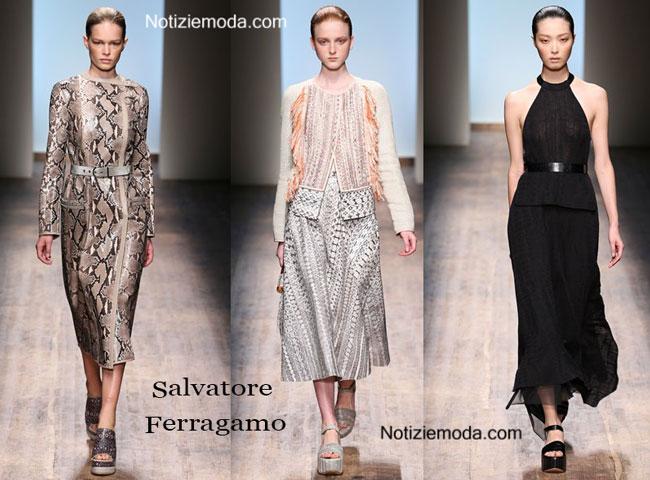 Scarpe Salvatore Ferragamo primavera estate 2015 donna