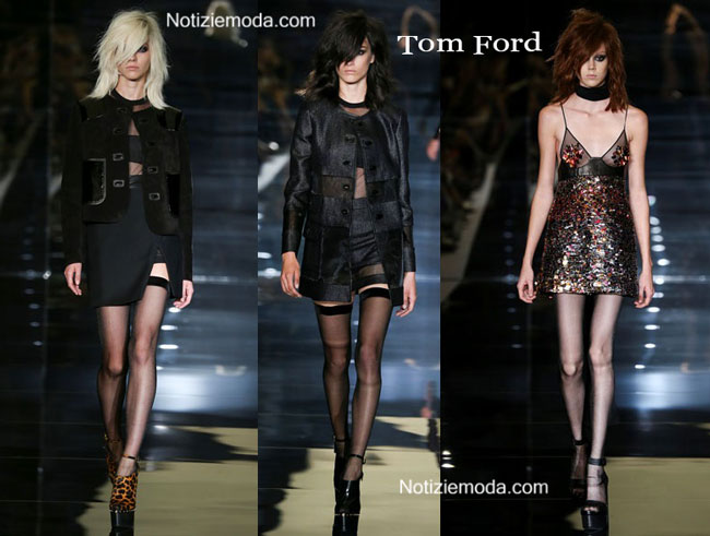 Scarpe Tom Ford primavera estate 2015 donna