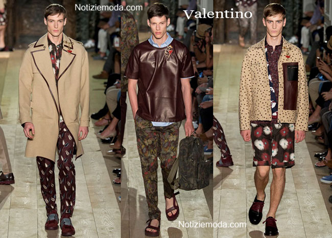 Scarpe Valentino primavera estate 2015 uomo