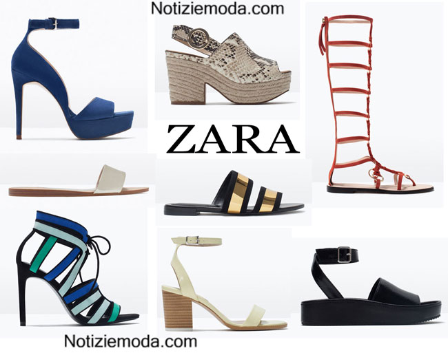 Scarpe ZARA primavera estate 2015 donna
