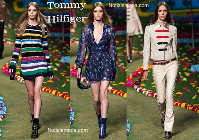 Sfilata Tommy Hilfiger donna primavera estate 2015