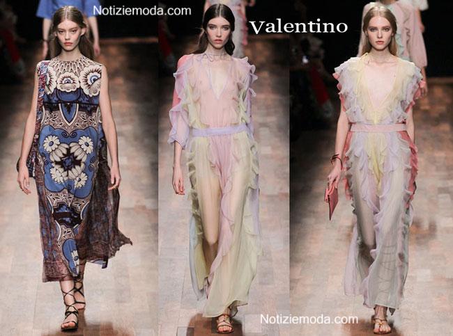 Sfilata Valentino donna primavera estate 2015
