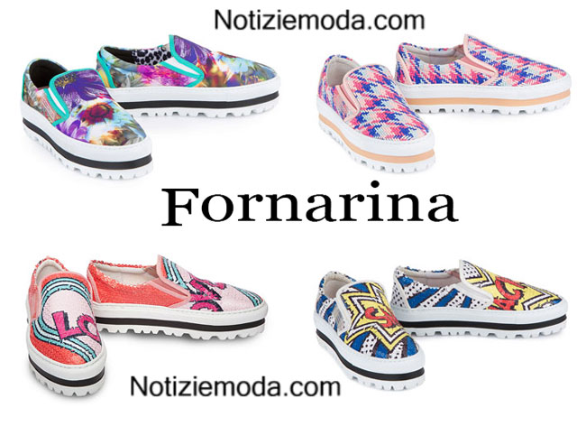 Slip-on Fornarina calzature estate 2015